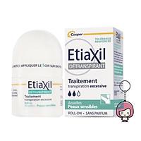 Lăn khử mùi hỗ trợ trị Etiaxil Detranspirant Traitement Aisselles 15ml + Tặng kèm móc khoá