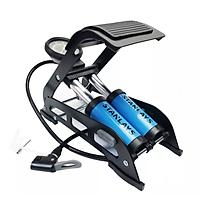 Bơm xe đạp xe máy đạp chân Stanlays 2 xi lanh bơm khỏe phù hợp với vọi loại van bền bỉ chắc chắn cơ động