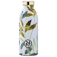 Bình giữ nhiệt chân không 24 Bottles Clima, họa tiết Lá vàng
