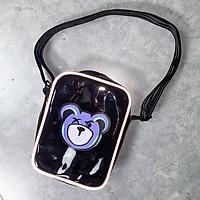 Túi đeo chéo mini thời trang trong suốt MIDORI DESIGN cao cấp