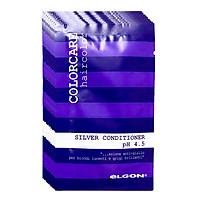 ELGON Colorcare Silver Conditioner Dầu xả khử ánh vàng cho tóc bạch kim dạng gói 10ml - Set 10 gói