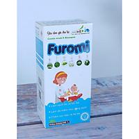 Sữa Tắm Gội Cho Bé Furomi 250ml từ 100% dược liệu thiên nhiên giúp làm sạch da, mềm da và tóc hàng ngày cho trẻ, hoàn toàn không gây cay mắt, phòng ngừa rôm rảy, viêm da