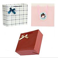 Combo 3 Túi giấy đựng quà 15cm (mẫu ngẫu nhiên)
