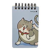 Sổ Ghi Nhớ Meow (Lò Xo Trên) - Morning Glory 81748 - Mẫu 2