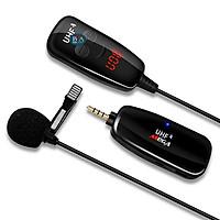 Micro không dây cài áo, Micro thu âm cho điện thoại, máy quay video