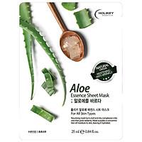 Mặt Nạ Tinh Chất Lô Hội Thiên Nhiên Cấp Ẩm Và Dưỡng Da Trắng Mịn Holikey Aloe Vera Essence Mask Sheet 25ml - Hàn Quốc Chính Hãng