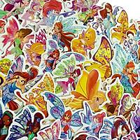 Set 60 Sticker  WINX CÔNG CHÚA PHÉP THUẬT - WinX Princess