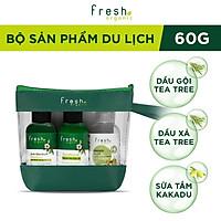 [GIFT] Bộ sản phẩm du lịch Fresh Organic