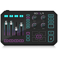 TC-Helicon GO XLR 4-Channel Mixer, Motorized Faders, Sound Board and Vocal Effects-Hàng Chính Hãng