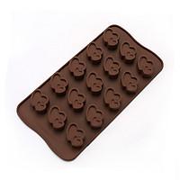 Khuôn Silicon Làm Chocolate Làm Thạch Làm Bánh Dễ Thương
