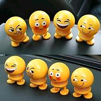 Thú nhún Emoji lò xo lắc đầu mặt cười