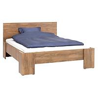 Khung giường kèm dát JYSK Vedde gỗ công nghiệp màu sồi