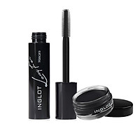 COMBO 1 kẻ mắt Eyeliner Gel + Mascara dài mi Inglot Eye Long For Mascara (12ml)
