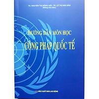 Sách Hướng Dẫn Môn Học Công Pháp Quốc Tế (Năm 2020)