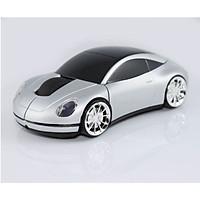 Chuột không dây 3D thể thao Porsche tặng miếng lót chuột - Hàng Nhập Khẩu