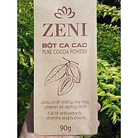 Bột ca cao Zeni nguyên chất 100% gói 90g