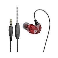 Tai nghe QKZ AK2 - Bản nâng cấp CK6 Giá rẻ, âm tốt có micro - hàng chính hãng