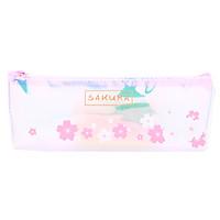 Bóp Viết Nhựa Dạ Uyên Loan - Sakura (Mẫu Ngẫu Nhiên)