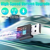 USB WIFI 5G 1200Mbps, Nâng cấp WiFi cho máy bàn laptop thu sóng 5Ghz dễ dàng, USB 3.0