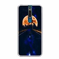 Ốp lưng điện thoại Oppo F11 Pro - Silicon dẻo - 0448 MOON09 - Hàng Chính Hãng