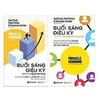 Combo 2 Cuốn Sách : Buổi Sáng Diệu Kỳ Dành Cho Nhà Tiếp Thị Mạng Lưới + Buổi Sáng Diệu Kỳ Dành Cho Người Bán Hàng (Tặng kèm Bookmark Happy Life )