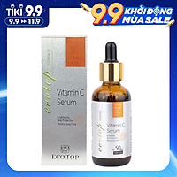 Tinh Chất Serum Làm Mờ Vết Thâm Dưỡng Trắng Sáng Da Ecotop Vitamin C 50ml
