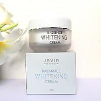 Kem dưỡng trắng da, cấp ẩm mềm da Javin Whitening Cream Hàn quốc cao cấp 50gl/Hộp - Hàng Chính Hãng