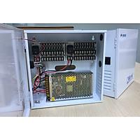 Hộp cấp nguồn điện 12v cho hệ thống camera giám sát (Dành cho hệ thống 16-18 camera và đầu ghi) - Hàng chính hãng