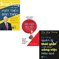 Combo 3 Cuốn Sách:  Học Cách Tiêu Tiền + Kỹ Năng Quản Lý Thời Gian Và Tổ Chức Công Việc Hiệu Quả + Nghệ Thuật Phát Triển Bản Thân