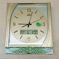 Đồng hồ Eastar hình Vuông Cách điệu có Màn hình Lịch và Nhiệt kế Điện tử