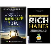 Combo Rich Habits - Thói Quen Thành Công Của Những Triệu Phú Tự Thân+Thói Quen Nhỏ Thay Đổi Lớn
