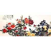 Tranh Treo Hoa Mẫu Đơn - MD029