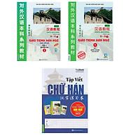 Combo Giáo trình Hán Ngữ Tập 1 Tập 2 , sách tập viết chữ Hán theo giáo trình Hán ( Tặng bookmark tùy chọn)
