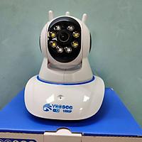 Camera IP Yoosee X8100 3 anten 2.0 Led 1080p - Night View Version (quay màu ban đêm) - Hàng nhập khẩu
