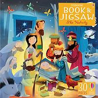 Usborne Book and Jigsaw: The Nativity (Contains 30 Pieces Jigsaw)