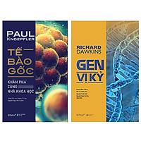 Combo Sách : Tế Bào Gốc - Khám Phá Cùng Nhà Khoa Học + Gen Vị Kỷ