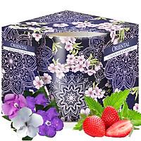 Ly nến thơm tinh dầu Bispol Oriental 100g QT06802 - hoa nhài Nhật