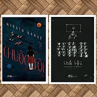 Combo Trinh Thám Minato Kanae: Chuộc tội + Thú Tội (Sách trinh thám hấp dẫn đầy ám ảnh / tội ác và trả thù