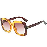 Fashion Women Square Frame Sunglasses UV400 Protection Lens Double Colors Sun Glasses Female Eyewear Shades
