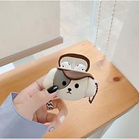 Ốp - Bao dành cho airpods 1/2/pro hình cún đội mũ phớt cute