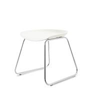 Combo 2 Ghế bar chân thấp cao cấp, mặt nhựa lót đệm, phù hợp dùng ngoài trời, pantry, bar, nhà hàng, bàn trang điểm... mã sản phẩm K000-014, K000-015
