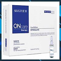 Huyết thanh Selective Oncare Stimulate Lotion ngăn ngừa rụng kích thích mọc tóc Ý 6ml x 12