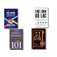 Combo 4 Cuốn sách Đội Nhóm Trong Mơ , Thủ Lĩnh Bộ Lạc – Thuật Lãnh Đạo Xuất Chúng Để Đưa Tổ Chức Vươn Tới Một Tầm Cao Mới , 51 chìa khóa vàng để trở thành nhà lãnh đạo truyền cảm hứng , Lãnh đạo 101 – Leadership 101  nt