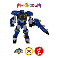 Đồ Chơi Mô Hình MINIFORCE Robot Siêu Khủng Long Tyranno Sấm Sét Cùng Siêu Nhân Volt Tố 304033