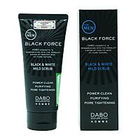 Sữa rửa mặt dành cho nam Dabo Homme Black Force Foam Cleanser 120ml