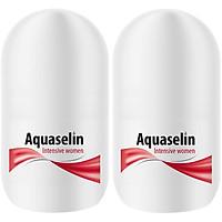 Combo Lăn Nách Dành Cho Nữ Aquaselin Insensitive Women Antiperspirant For Increased Perspiration 20ml