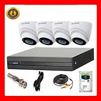 Trọn bộ 4 camera Dome KBVISION Full HD 1080p- Hàng chính hãng