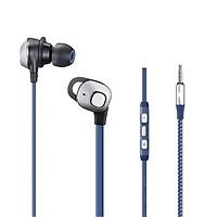 Tai nghe nhét tai Super bass chất âm cực hay dành cho điện thoại Samsung và Apple iPhone, iPad - Hàng chính hãng