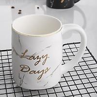Cốc sứ Lazy Days