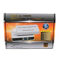 Bộ chuyển đổi VGA ra HDMI YJS-4500HD Full HD 1080P có Cổng Audio